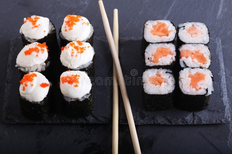 Традиционный японский конец еды вверх стоковые изображения rf