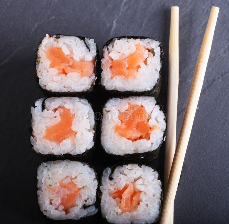 Традиционный японский конец еды вверх стоковые изображения