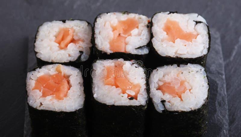 Традиционный японский конец еды вверх стоковые фото