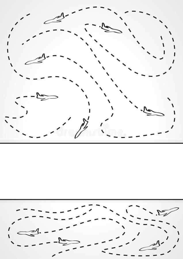 Траектория полета 3 пчел бесплатная иллюстрация