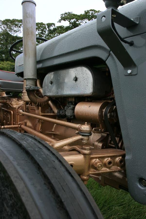 трактор двигателя стоковое фото