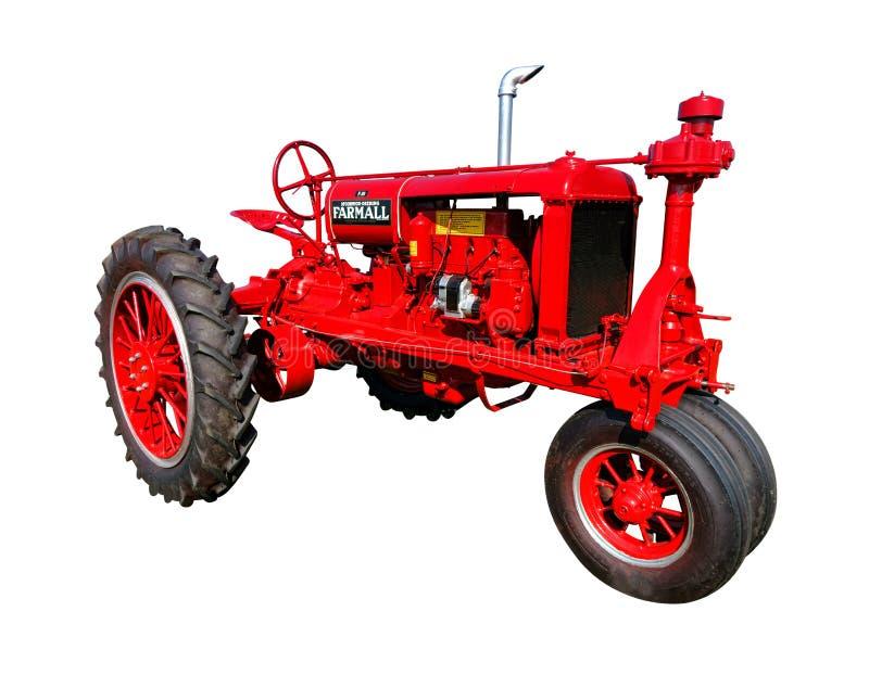 Трактор земледелия Farmall F20 винтажный стоковые изображения