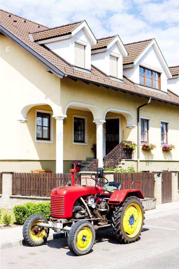 трактор, Нижняя Австрия, Австрия стоковое изображение rf
