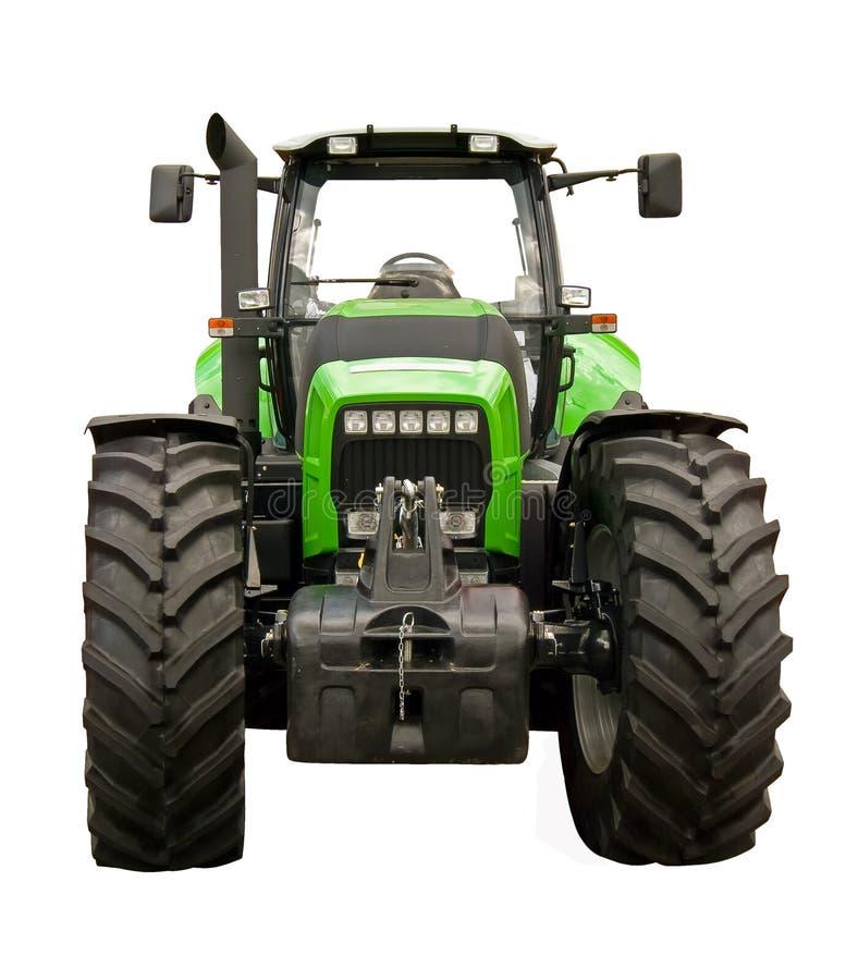 трактор фермы зеленый стоковое изображение rf