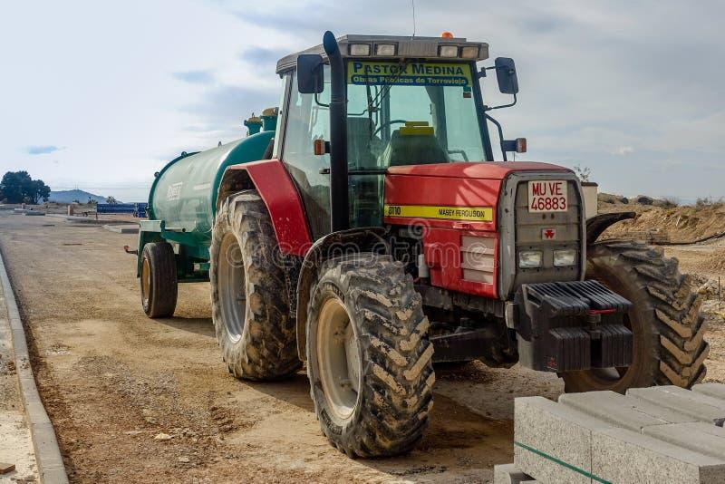 Трактор Masey Ferguson стоковые изображения rf