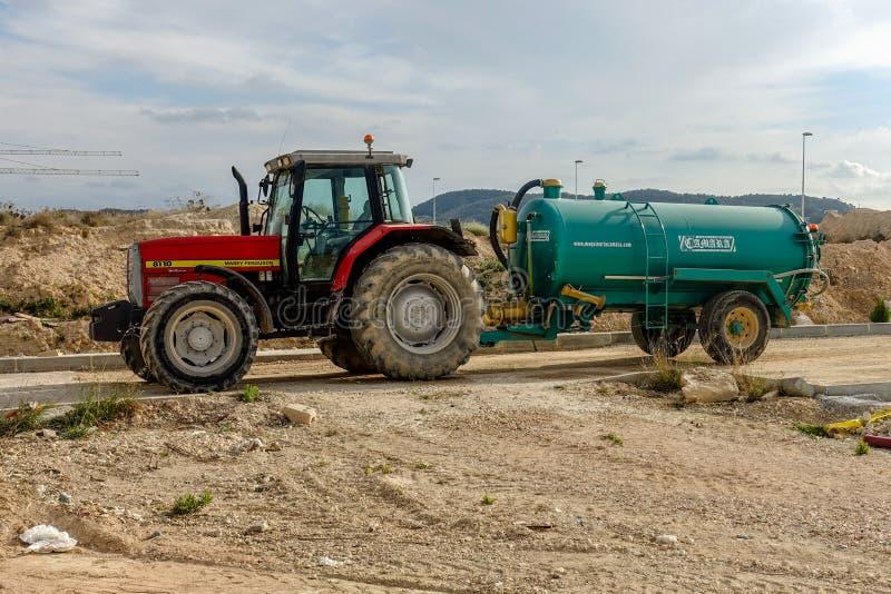 Трактор Masey Ferguson стоковое изображение