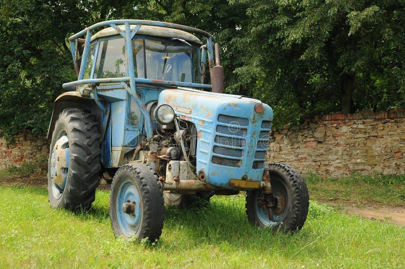 Трактор Zetor стоковая фотография