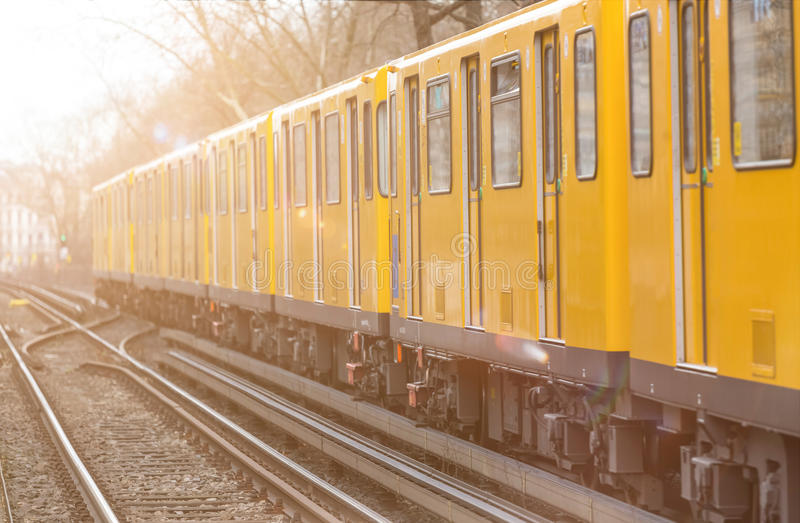 Трамвай в Берлине Германии стоковые изображения rf