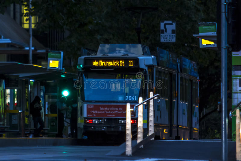 Трамвай Мельбурна стоковые фотографии rf
