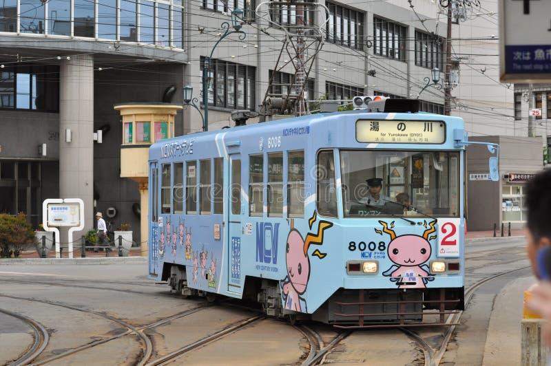 Трамвай Хоккаидо стоковые фотографии rf