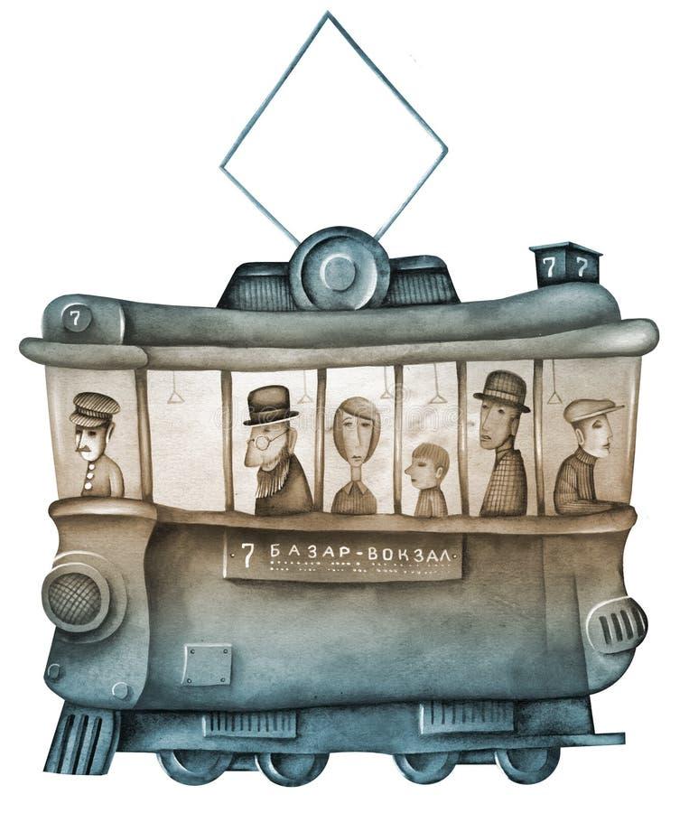 трам бесплатная иллюстрация