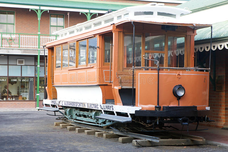 трам kimberly старый стоковое фото rf
