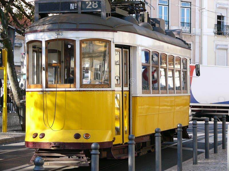 трам Lisbon Стоковые Изображения