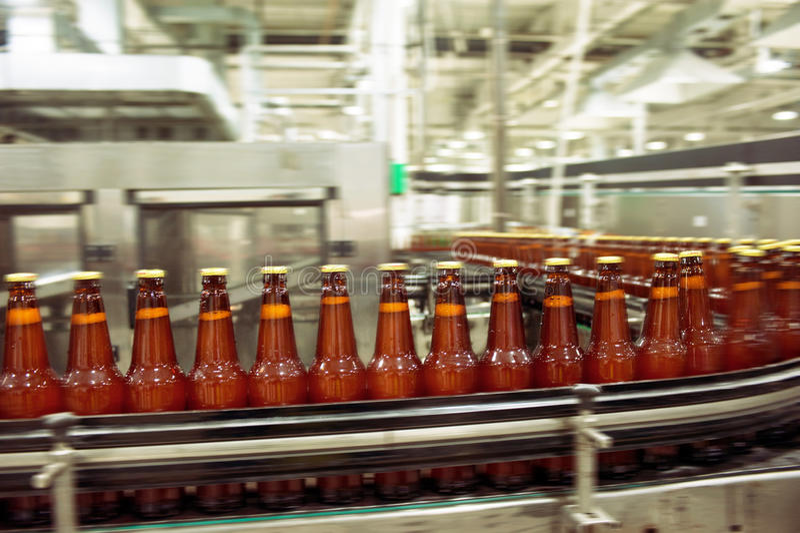 Транспортер пива стоковое изображение rf