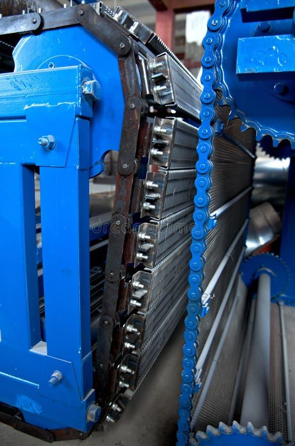 Транспортер. след индустрии. конвейерная лента. стоковая фотография rf