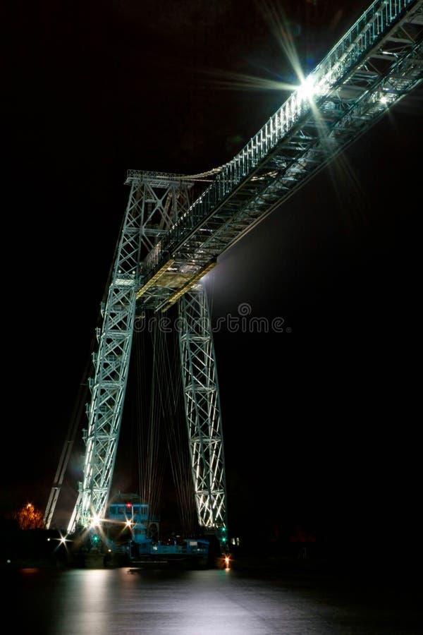 транспортер newport моста стоковые изображения rf