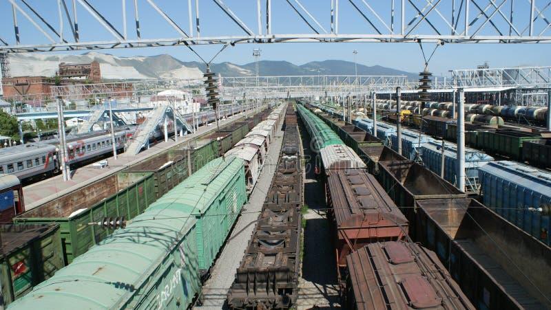Транспортная инфраструктура Novorossiysk стоковая фотография