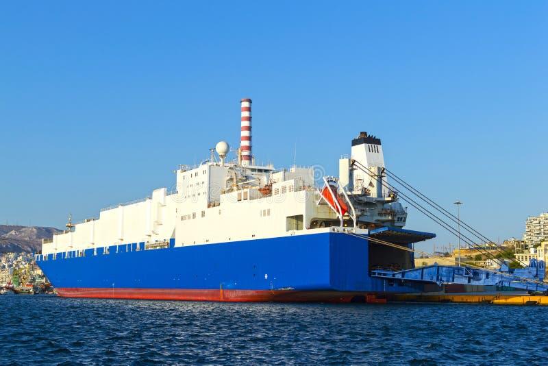 Транспортное судно корабля стоковые фотографии rf