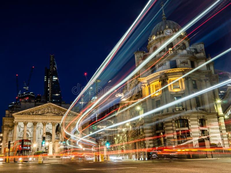 Транспорт в Лондоне, банке стоковая фотография