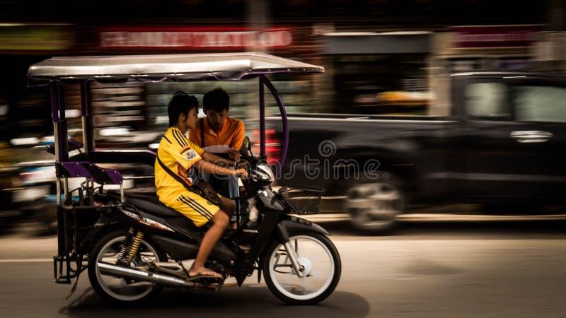 Транспорт городка Krabi стоковые фотографии rf