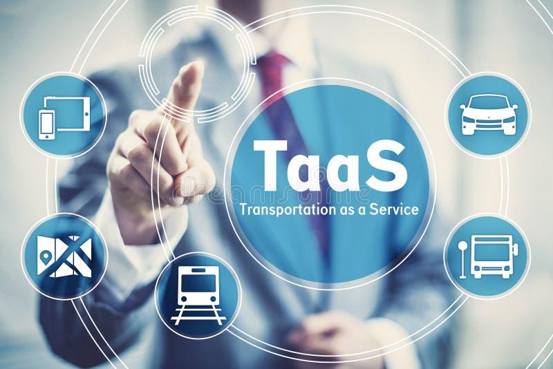 Транспорт как иллюстрация концепции обслуживания стоковое изображение rf