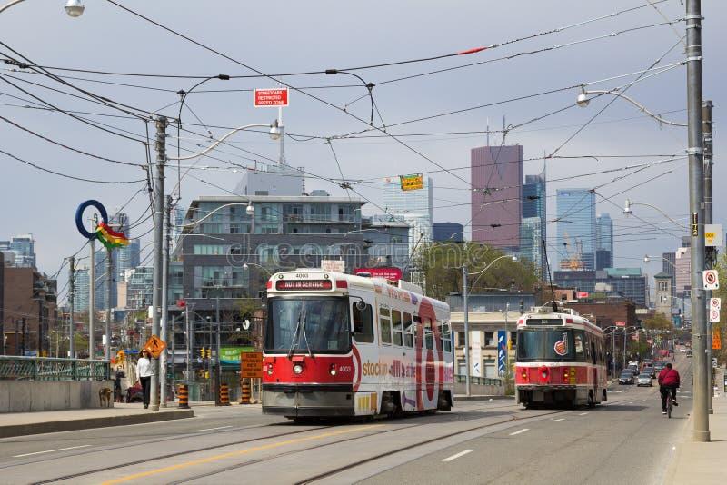Транспорт Торонто стоковая фотография