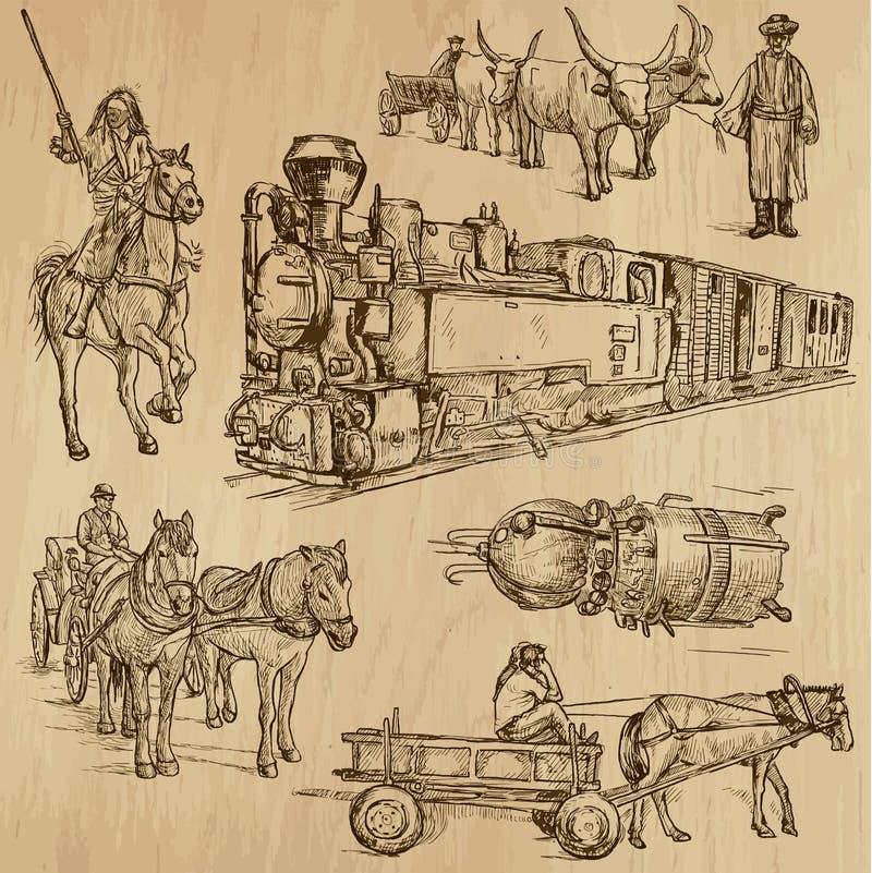 Download Транспорт 7 иллюстрация вектора. иллюстрации насчитывающей история - 40586638