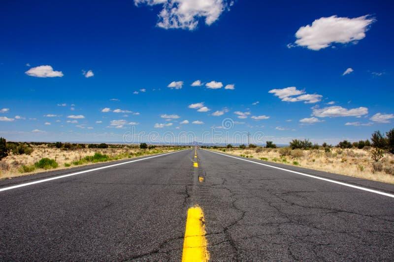 Трасса 66, известная дорога США, Аризона стоковое изображение rf