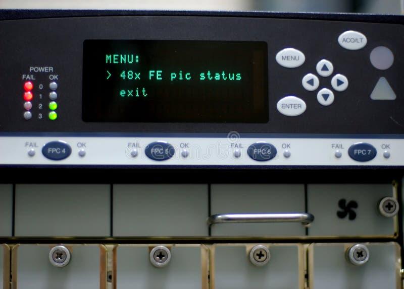 трасса оборудования стоковые фотографии rf