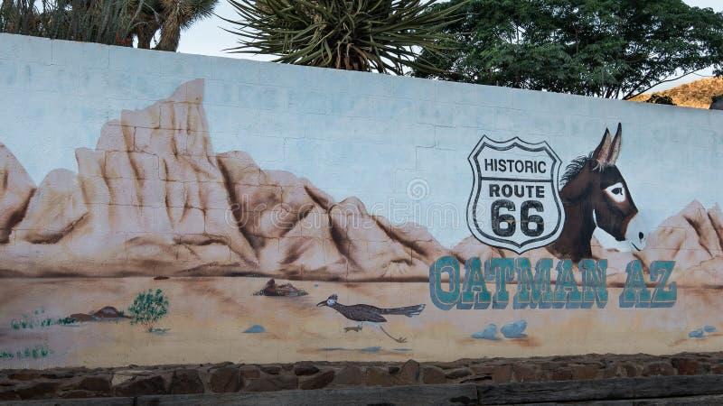 Трасса 66:  стоковое изображение