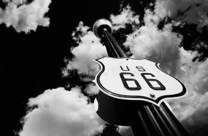 трасса 66 стоковое фото