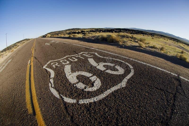 Download трасса 66 стоковое изображение. изображение насчитывающей крест - 18388747