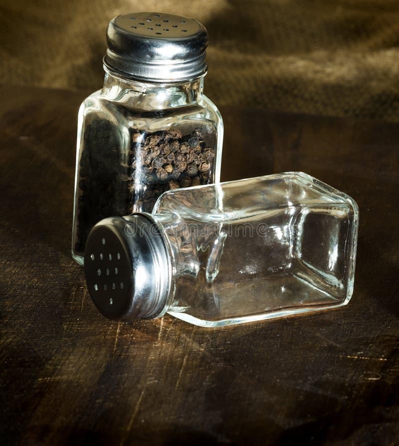 трасучки соли перца стоковая фотография