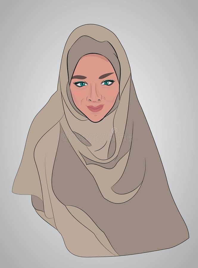 Традиционная исламская одежда бесплатная иллюстрация