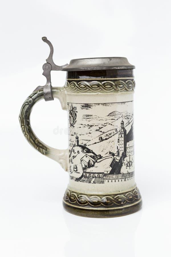 Традиционная немецкая кружка пива стоковые фото