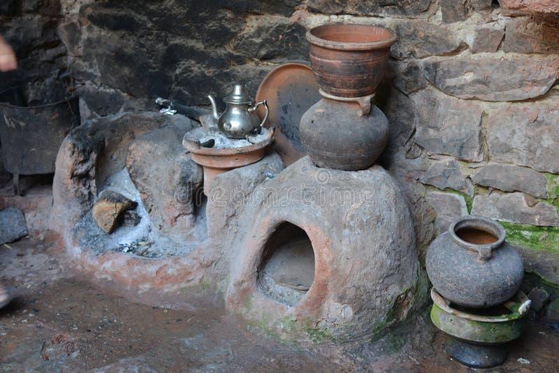 Традиционная общинная глина, Марокко, Северная Африка, Африка стоковая фотография