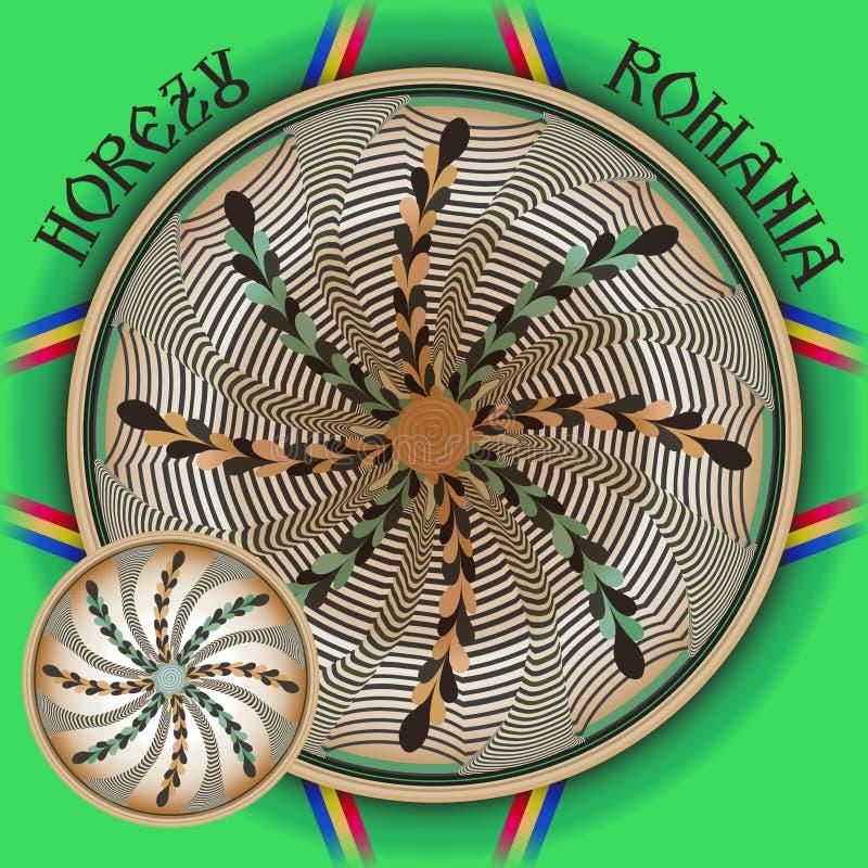 Традиционная румынская керамика Horezu бесплатная иллюстрация