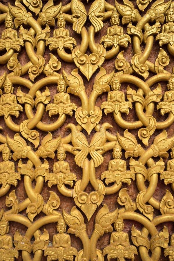 Традиционное высекая искусство Lao стоковое фото rf