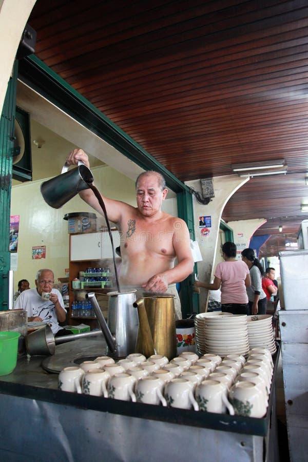 Традиционное Barista в Индонезии стоковые фото