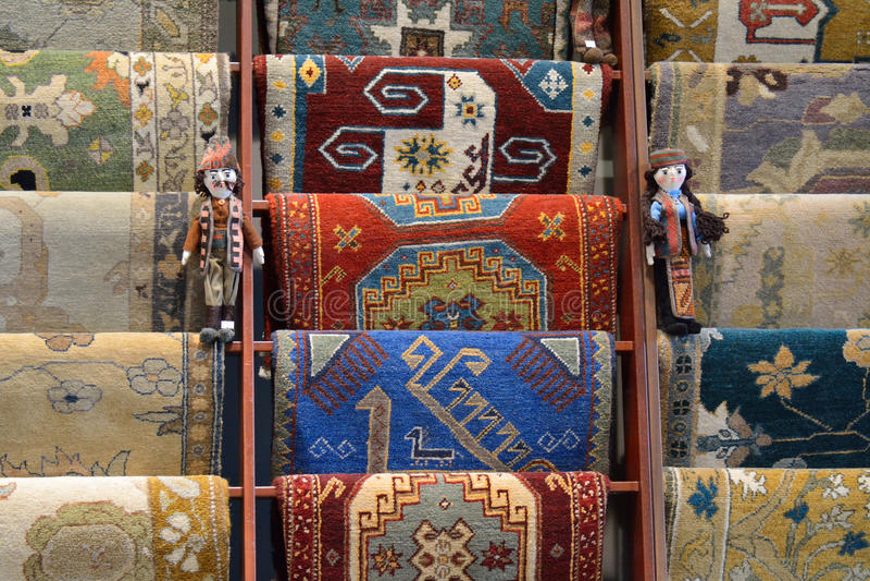 Традиционные армянские ковры стоковые фотографии rf
