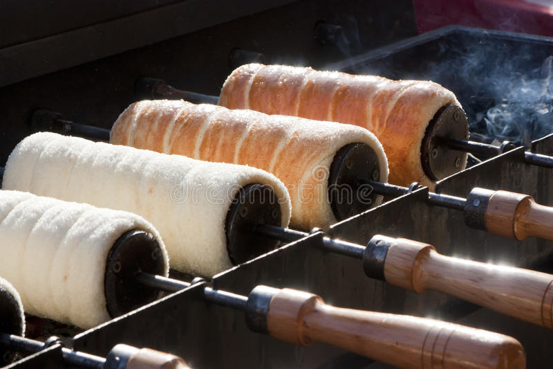 Традиционные торты венгра стоковые изображения rf