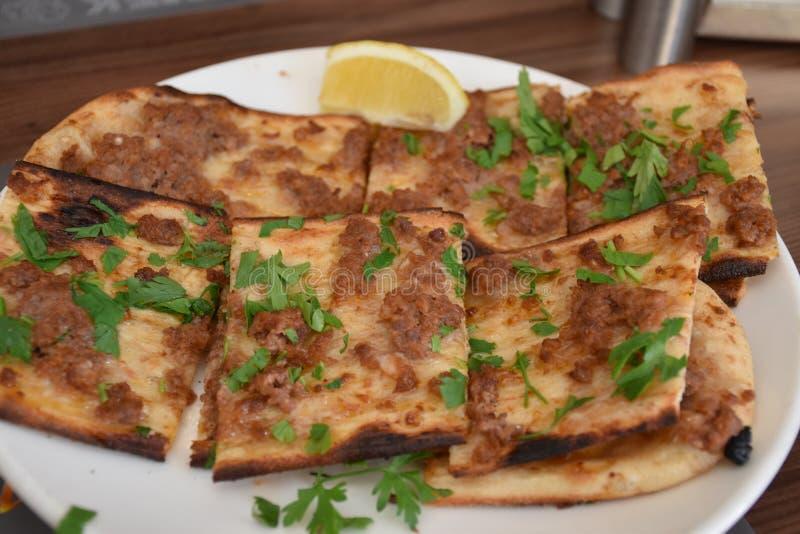 Традиционные турецкие печенья с мясом стоковая фотография