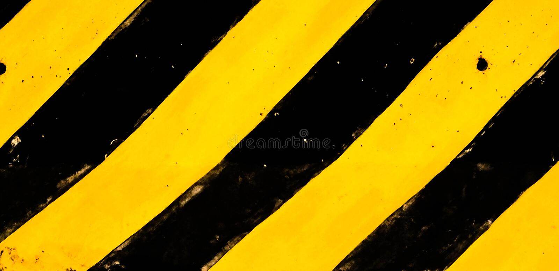 Традиционные черная и желтый стоковое изображение rf