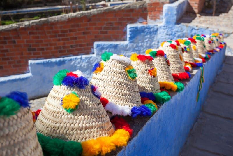 Традиционные шляпы berber стоковые фото