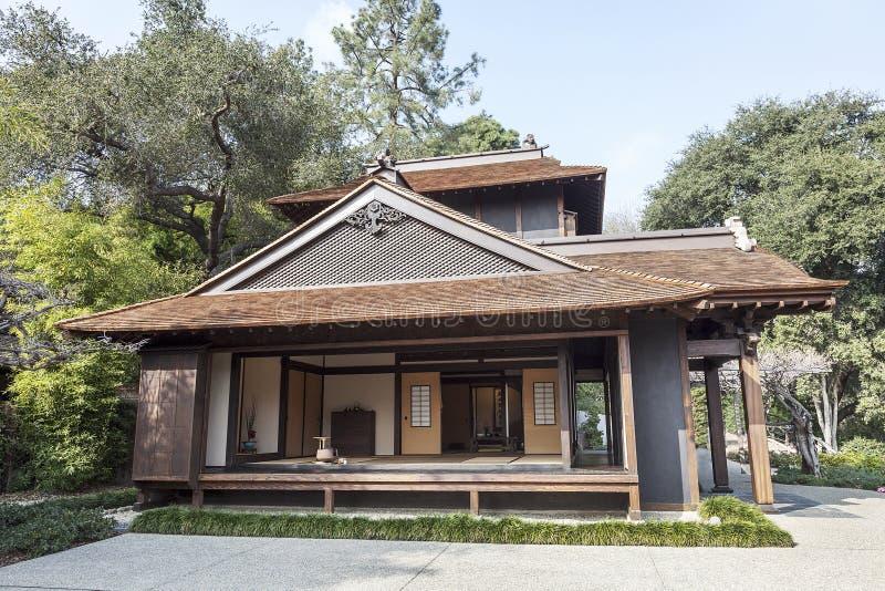 Японский дом чая стоковое фото rf