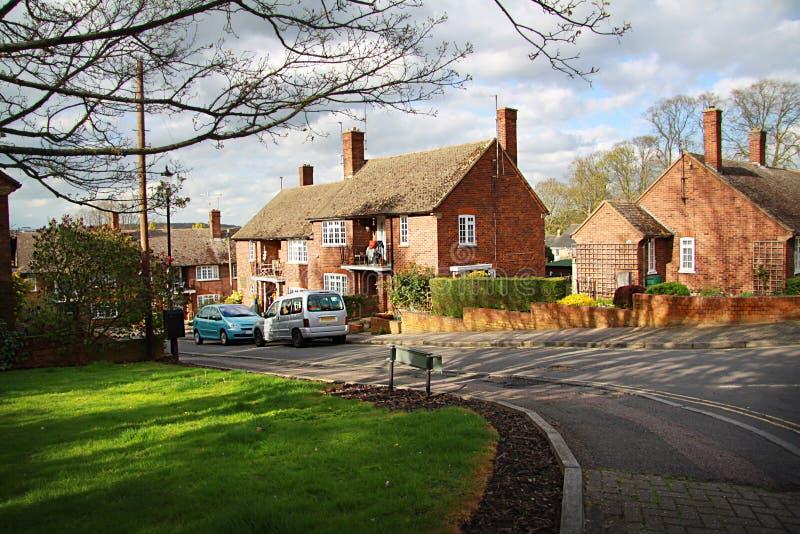 Традиционный английский дом стоковые изображения rf