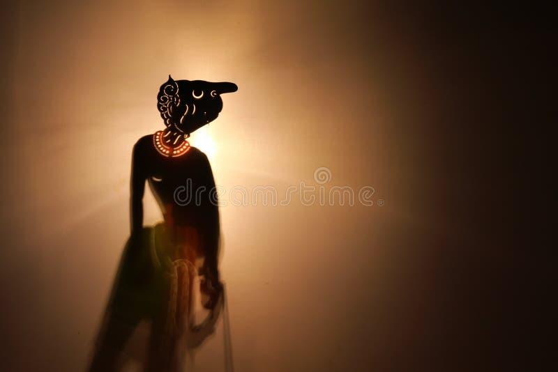 Традиционный тайский театр тени стоковая фотография