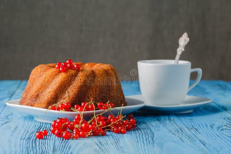Традиционный торт губки Gugelhupf стоковые фото