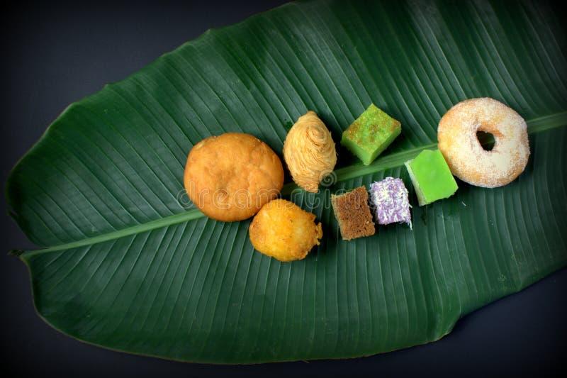 Традиционный торт Малайзии & Индонезии стоковые изображения rf