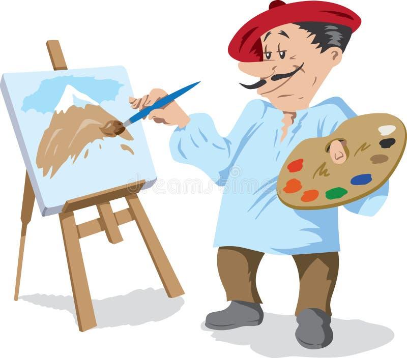 картинка или рисунок профессии художник многоквартирные